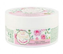 Family Cream with Bulgarian Rose Oil and Hyaluron