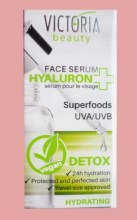 Protecting face serum Hyaluron and Detox